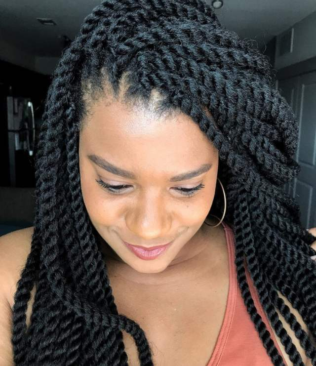 how to install crochet braids by yourself at home in only 4