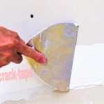 How to easily fix drywall cracks on walls and ceilings