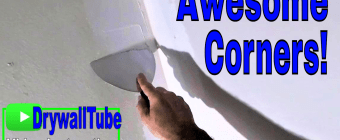How to hand tape a perfect inside drywall corner- Step by Step