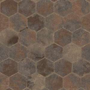 Hexagon Pattern Floor  S0042  substance shader material street cobblestone pavement floor old temple  brick hexagon