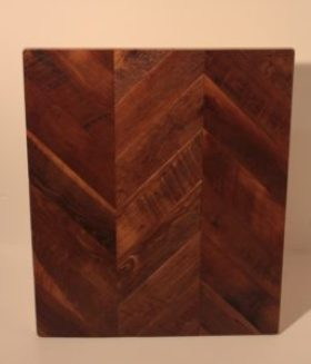 Reclaimed Wood Chevron
