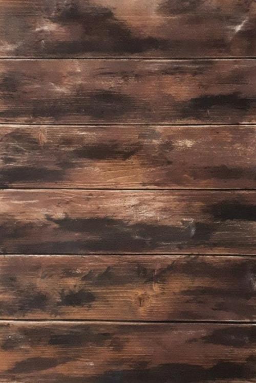 real wood backdrop
