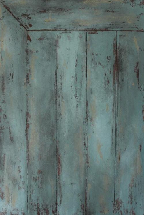 Wood panel with real slats