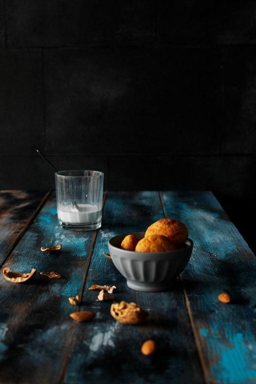 sfondo legno blu vintage