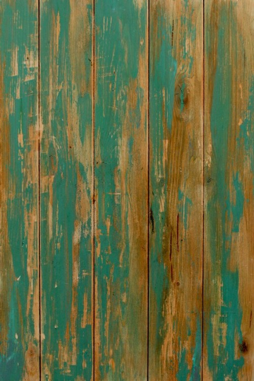 green wood backdrop distressed