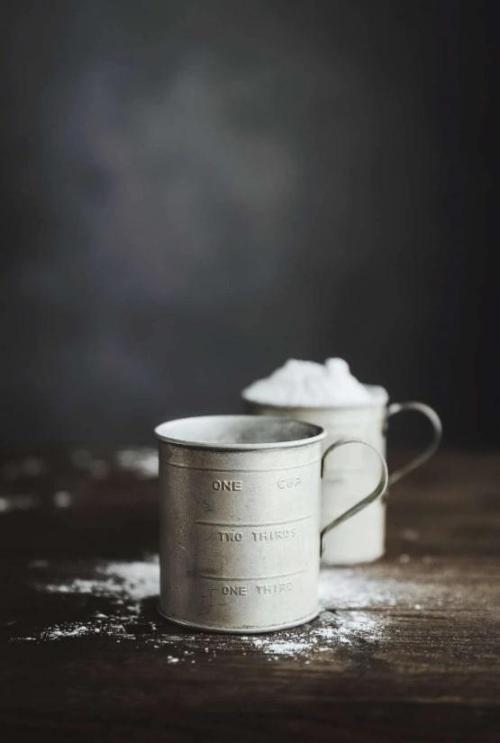 Vintage metal measuring cup
