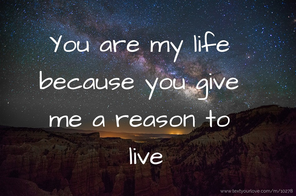 Are You Reason My Living