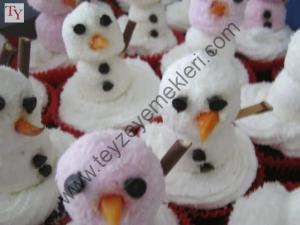 Kardan Adamlı Cupcake