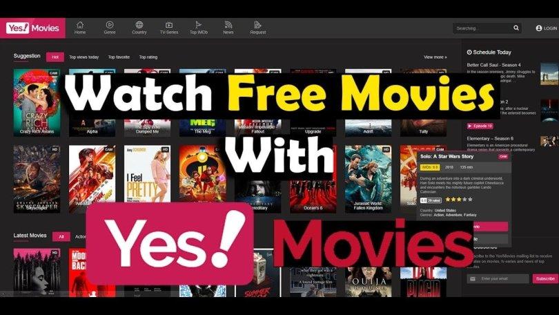YesMovies Watch free movies online