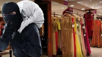 Theft at saree showroom in roop nagar