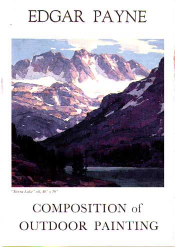 Composition Of Outdoor Painting Edgar Payne