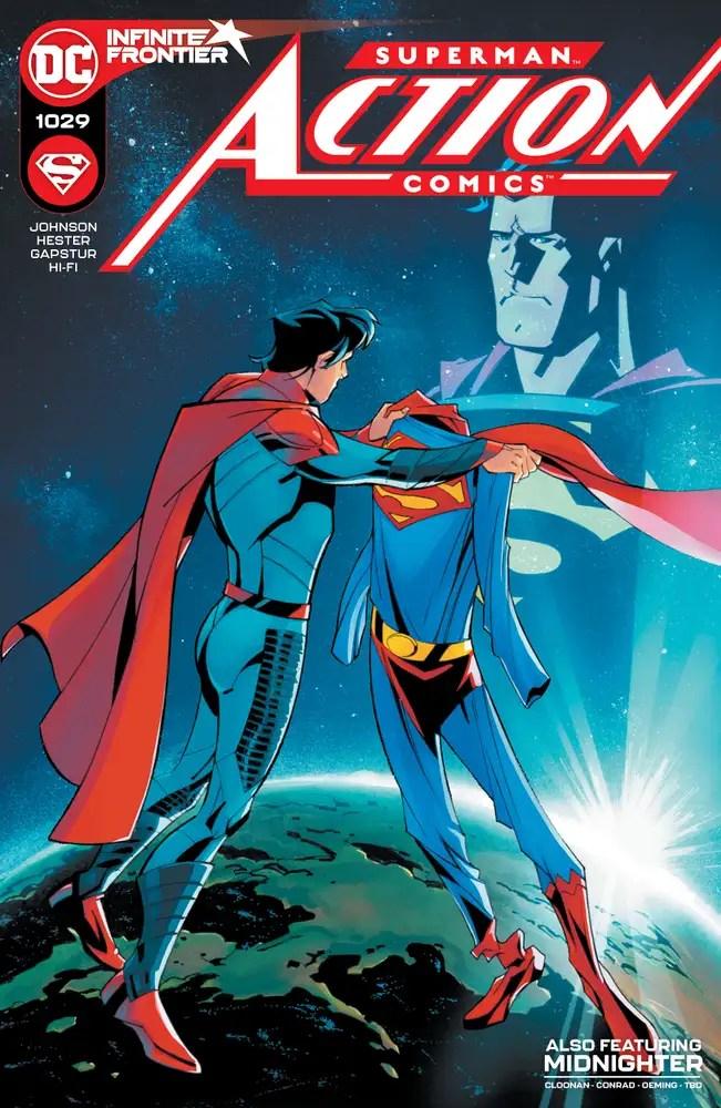 0121DC025 ComicList: DC Comics New Releases for 03/24/2021