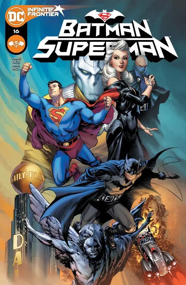 0121DC032 ComicList: DC Comics New Releases for 03/24/2021