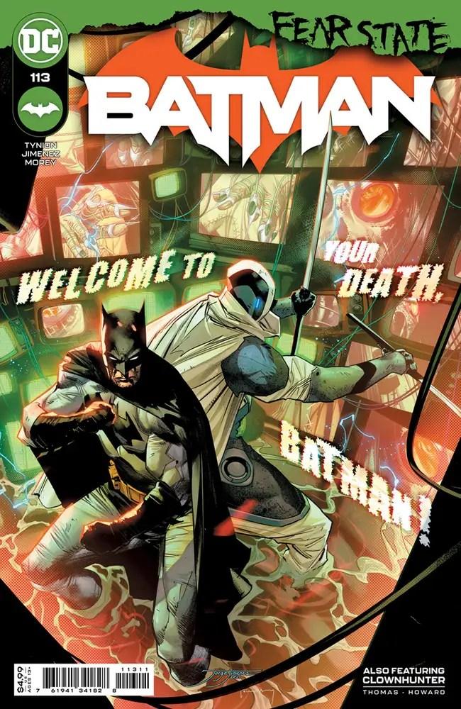 0721DC010 ComicList: DC Comics New Releases for 09/22/2021