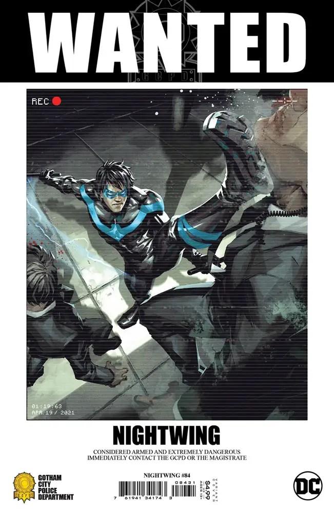 0721DC021 ComicList: DC Comics New Releases for 09/22/2021