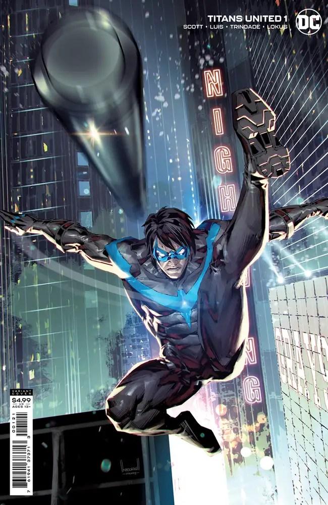 0721DC058 ComicList: DC Comics New Releases for 09/15/2021