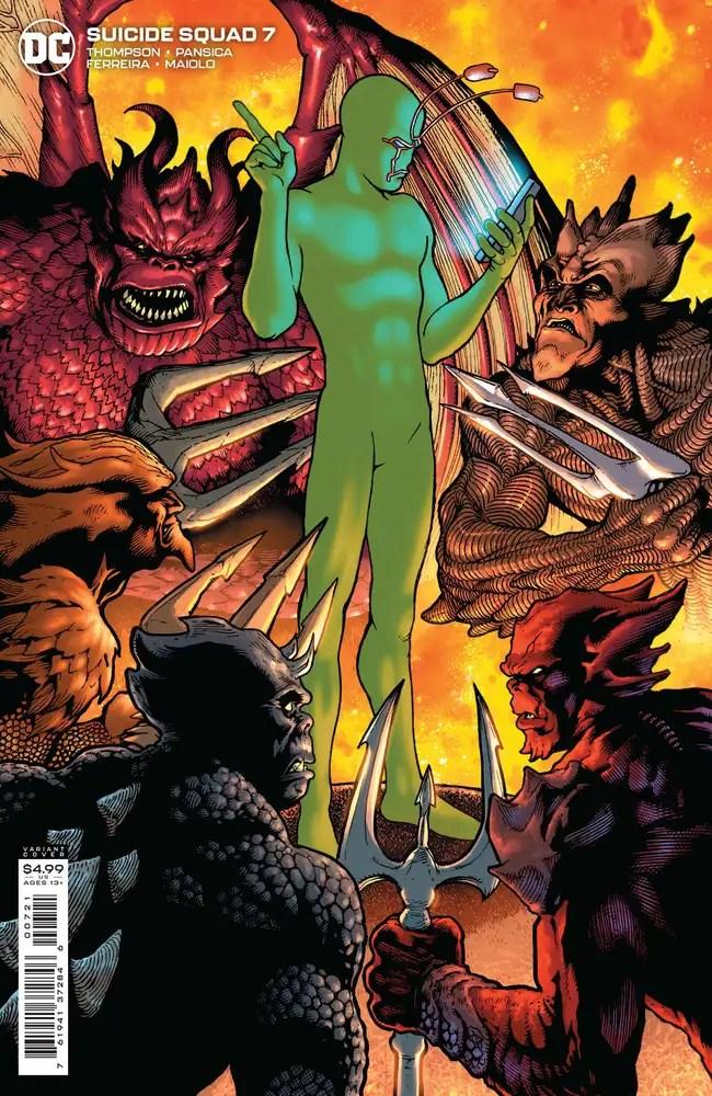0721DC125 ComicList: DC Comics New Releases for 09/08/2021