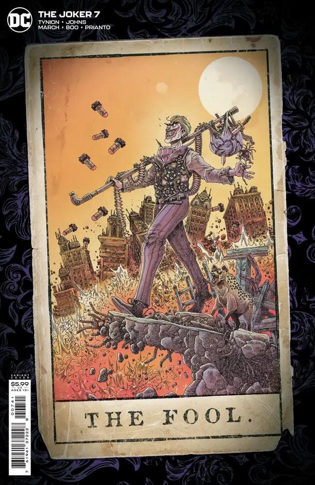 0721DC144 ComicList: DC Comics New Releases for 09/15/2021
