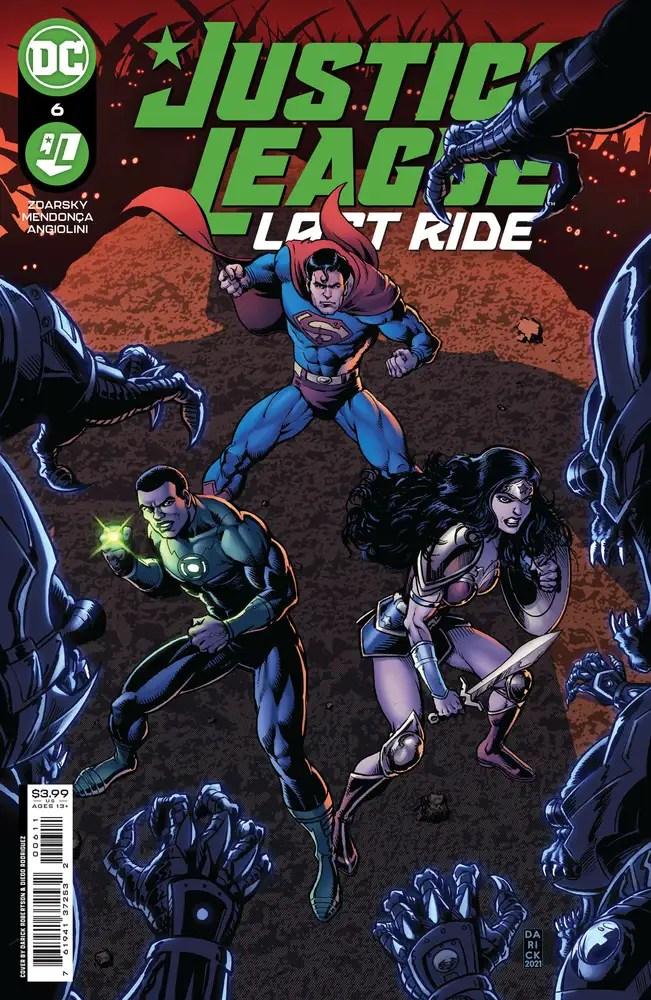 0821DC123 ComicList: DC Comics New Releases for 10/13/2021