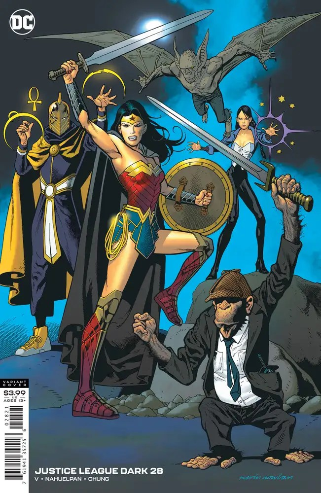 0920DC807 ComicList: DC Comics New Releases for 11/25/2020