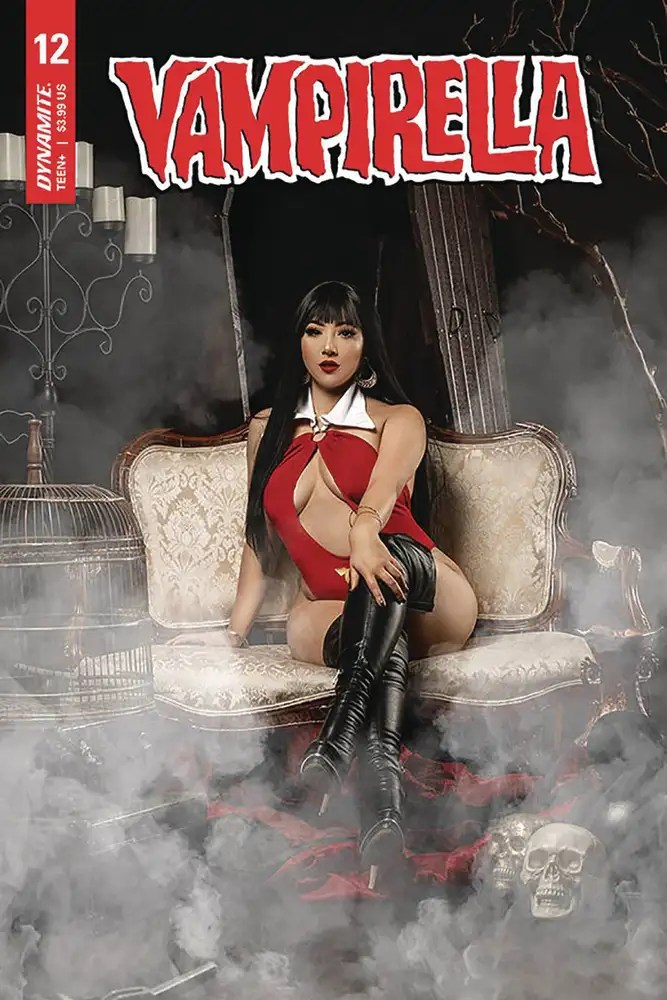 APR201202 ComicList: Dynamite Entertainment New Releases for 08/12/2020