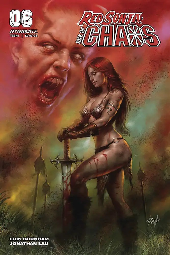APR201217 ComicList: Dynamite Entertainment New Releases for 08/12/2020