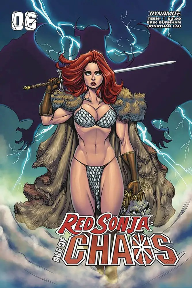 APR201219 ComicList: Dynamite Entertainment New Releases for 08/12/2020