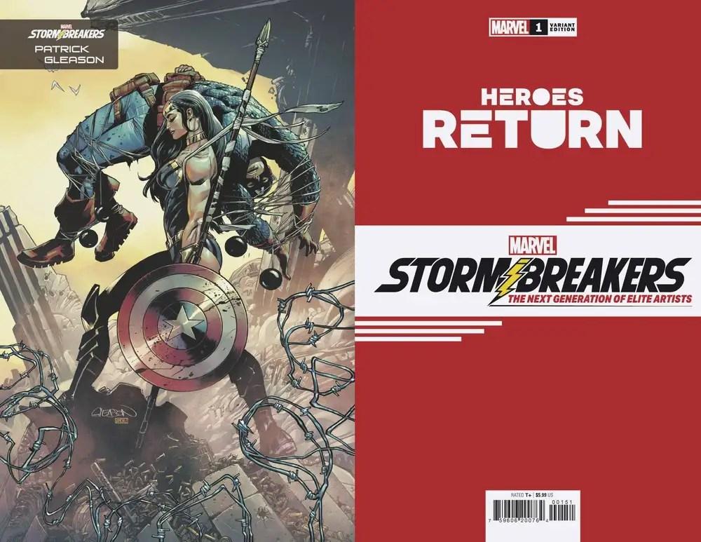 APR210716 ComicList: Marvel Comics New Releases for 06/23/2021