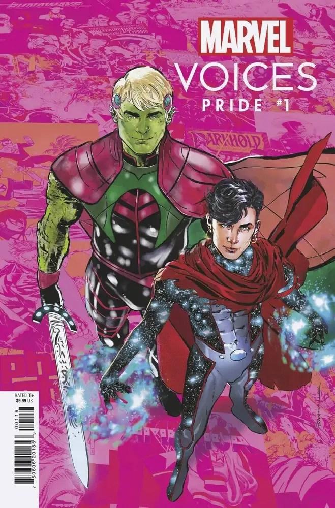 APR210816 ComicList: Marvel Comics New Releases for 06/23/2021