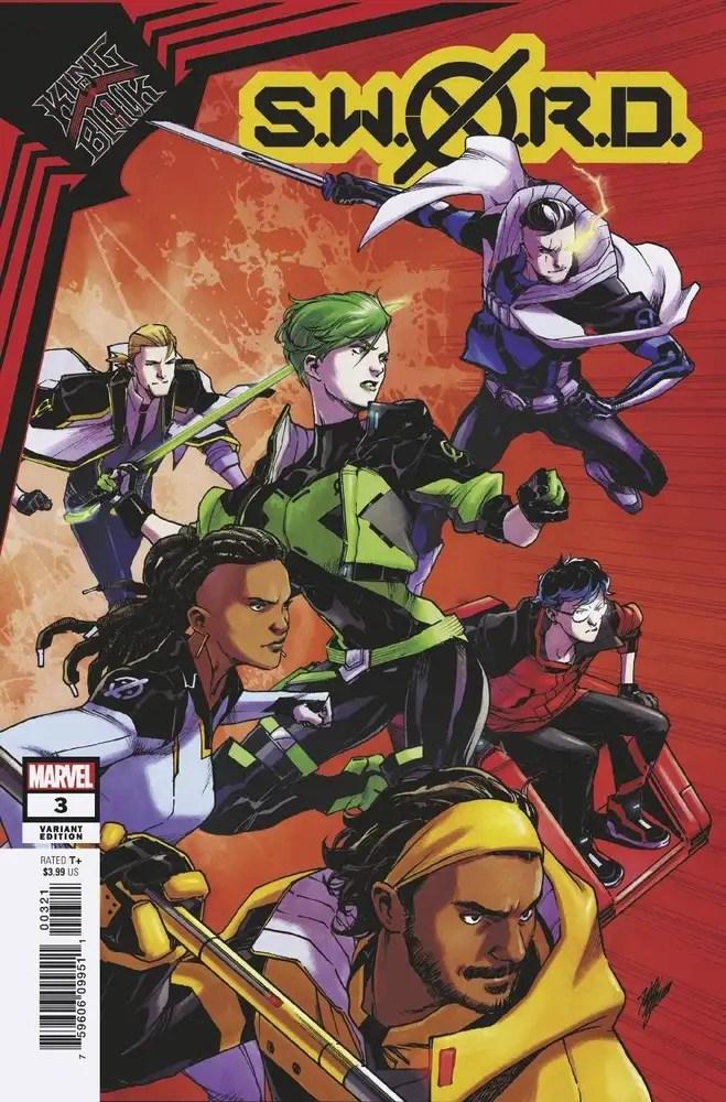 DEC200531 ComicList: Marvel Comics New Releases for 02/10/2021