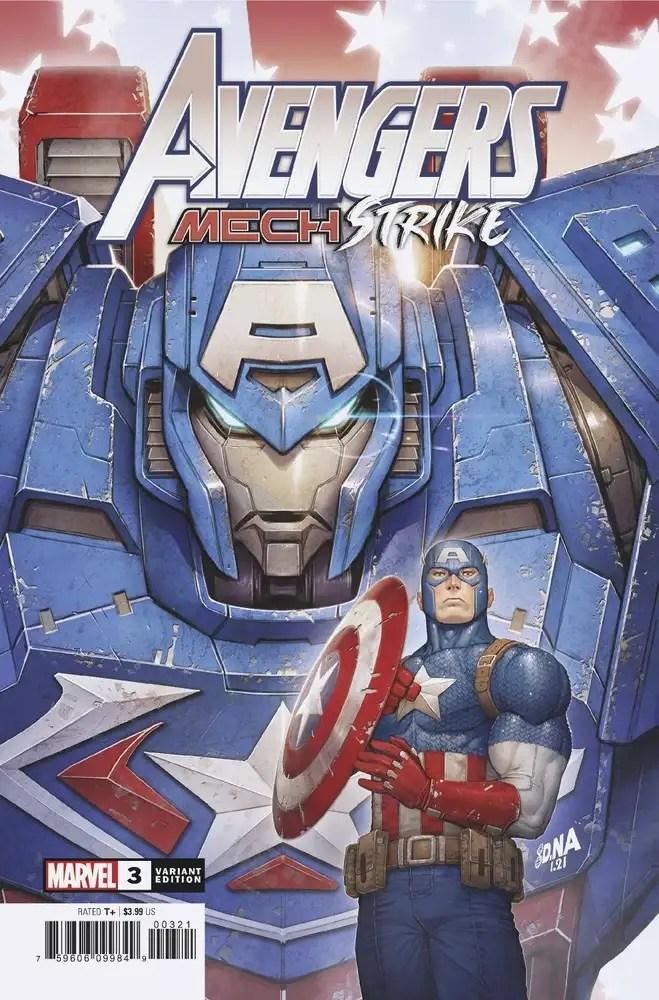 FEB210568 ComicList: Marvel Comics New Releases for 04/07/2021