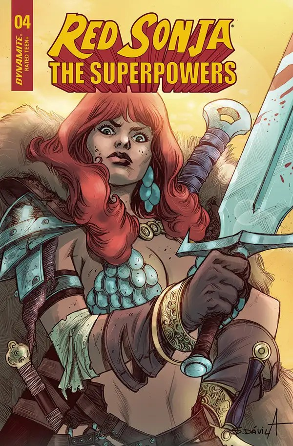 FEB210764 ComicList: Dynamite Entertainment New Releases for 04/14/2021