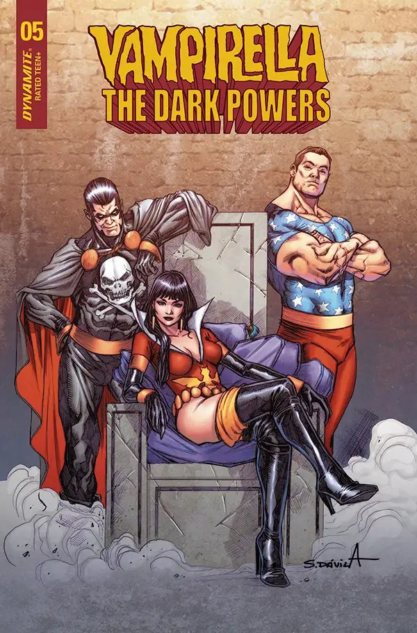 FEB210785 ComicList: Dynamite Entertainment New Releases for 04/14/2021