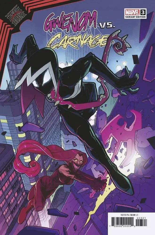 JAN210536 ComicList: Marvel Comics New Releases for 03/03/2021