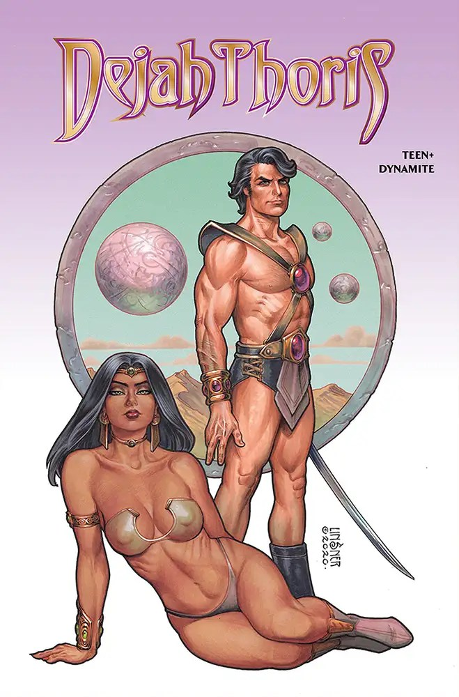 JAN210816 ComicList: Dynamite Entertainment New Releases for 04/28/2021