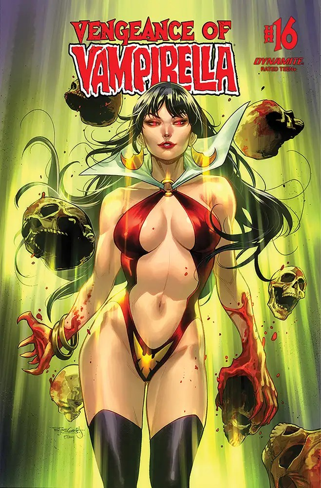 JAN210903 ComicList: Dynamite Entertainment New Releases for 03/31/2021