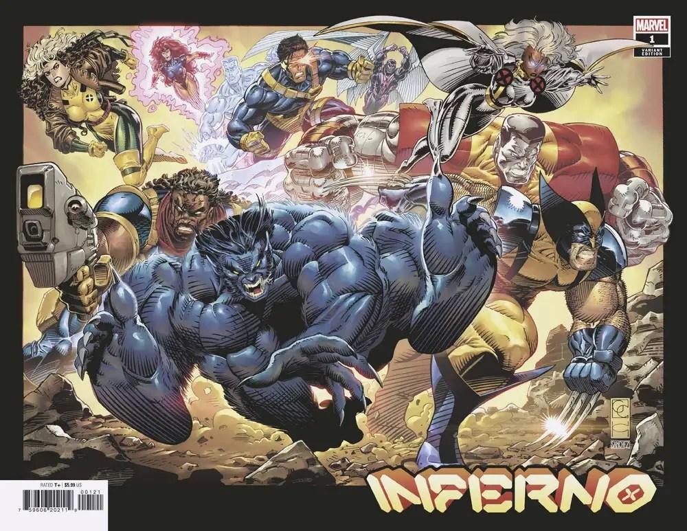 JUL210529 ComicList: Marvel Comics New Releases for 09/29/2021