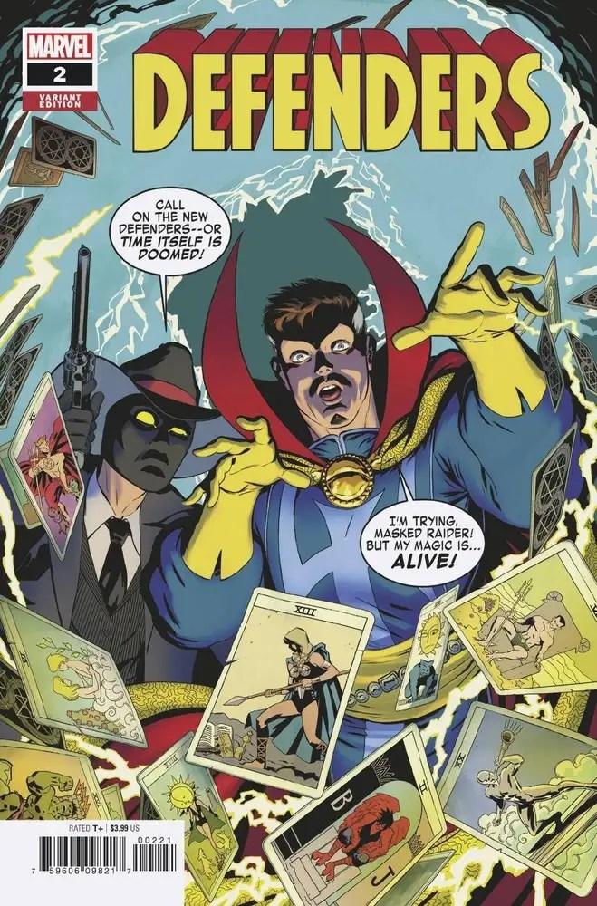 JUL210622 ComicList: Marvel Comics New Releases for 09/08/2021