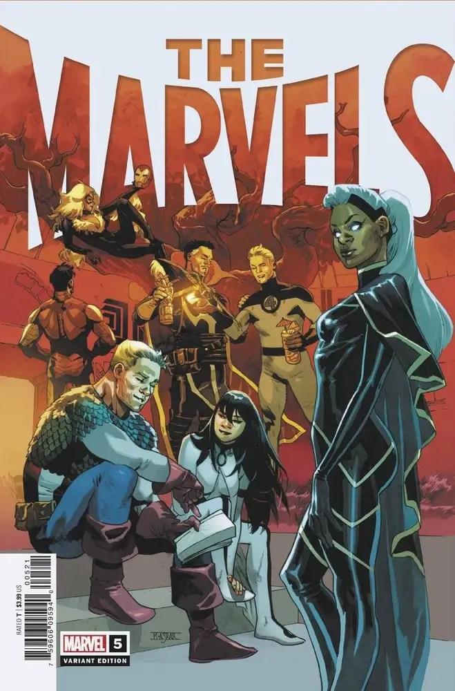 JUL210707 ComicList: Marvel Comics New Releases for 09/29/2021