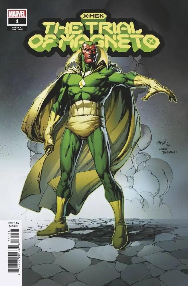 JUN210558 ComicList: Marvel Comics New Releases for 08/18/2021