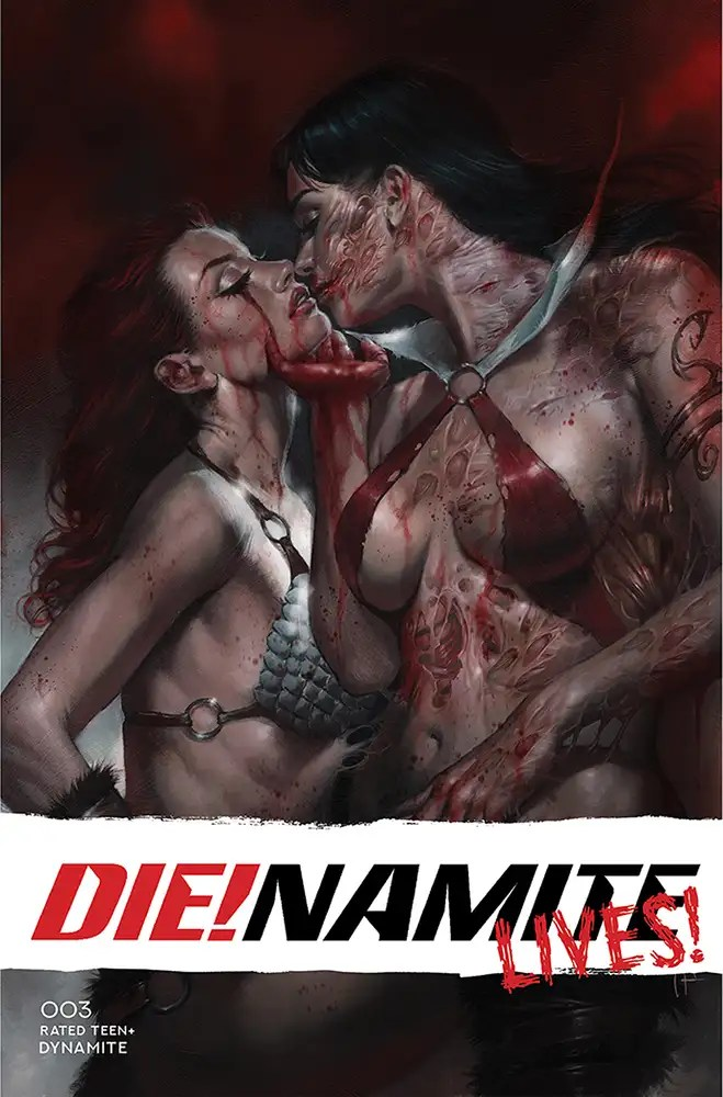 JUN210940 ComicList: Dynamite Entertainment New Releases for 08/18/2021