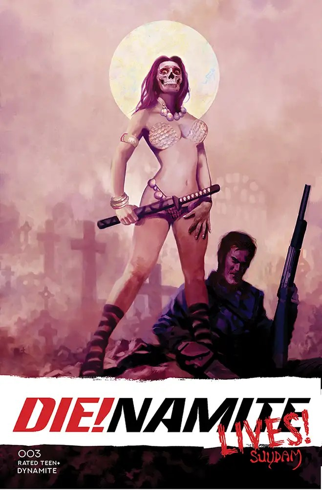 JUN210941 ComicList: Dynamite Entertainment New Releases for 08/18/2021