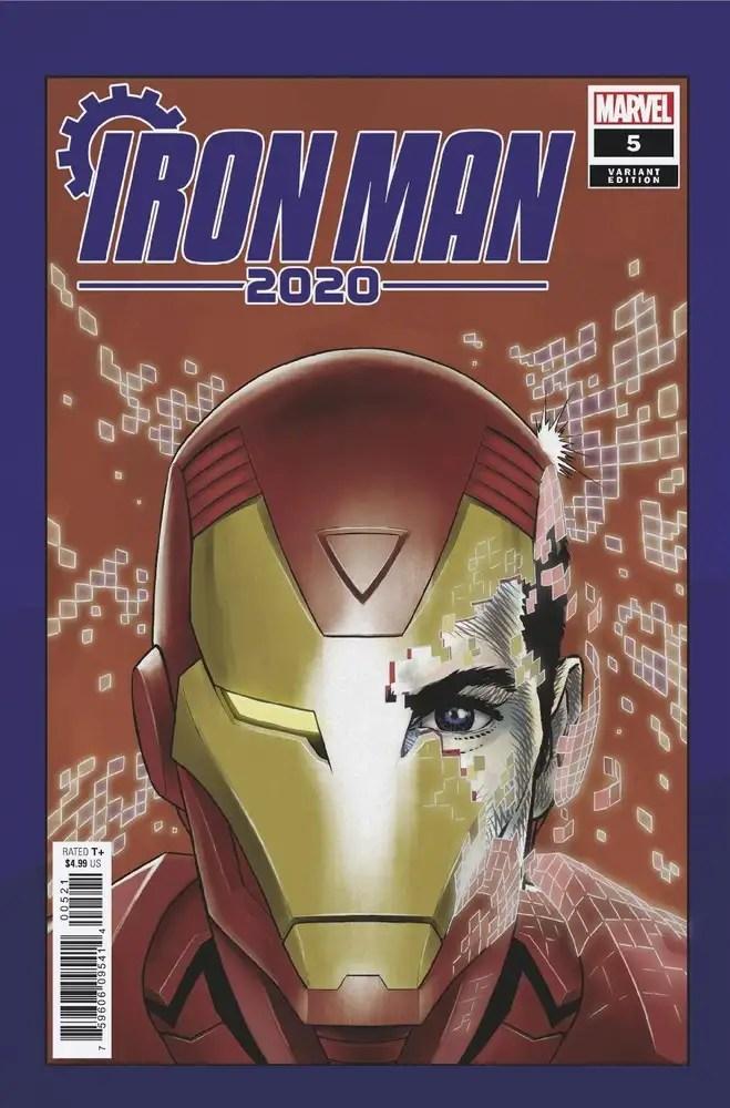 MAR200981 ComicList: Marvel Comics New Releases for 07/29/2020