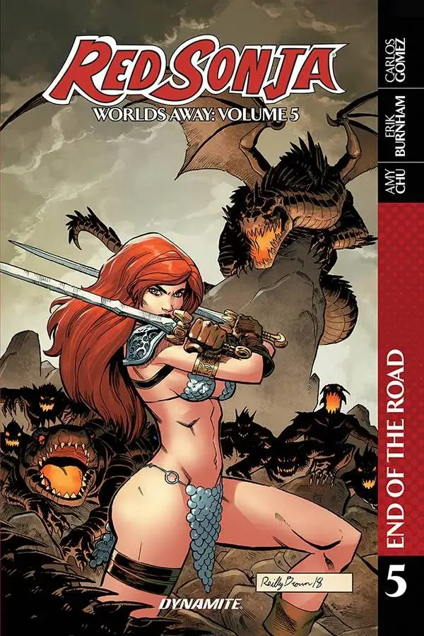 MAR201265 ComicList: Dynamite Entertainment New Releases for 02/24/2021