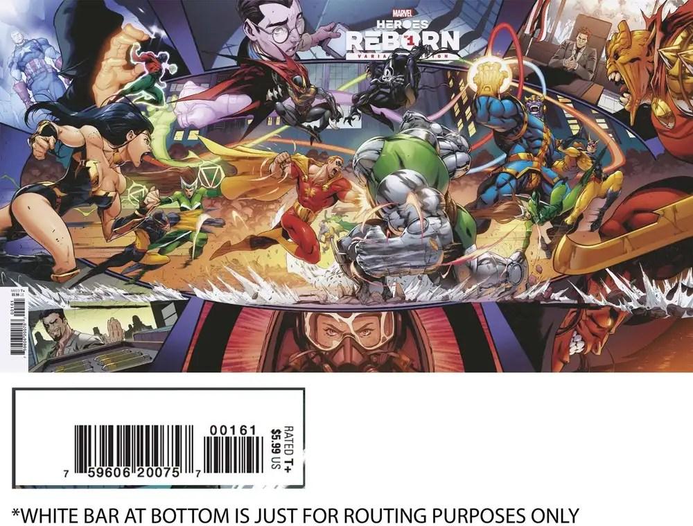 MAR210502 ComicList: Marvel Comics New Releases for 05/05/2021