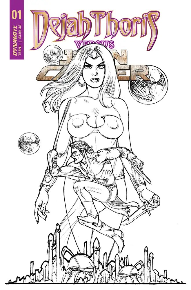 MAY210784 ComicList: Dynamite Entertainment New Releases for 07/21/2021