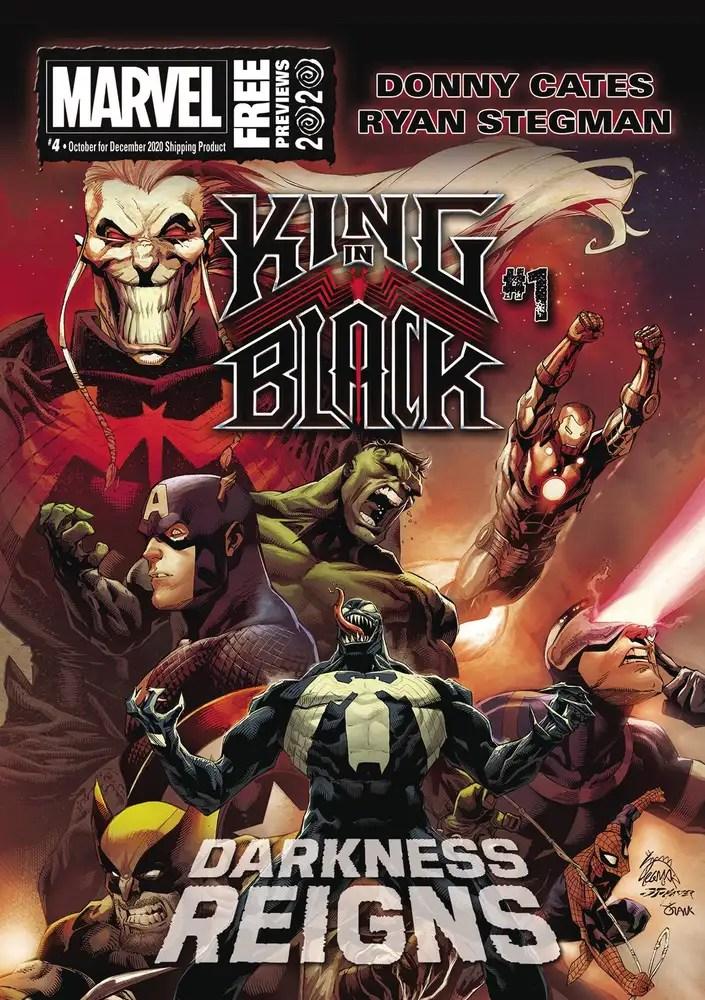OCT200002 ComicList: Marvel Comics New Releases for 11/25/2020