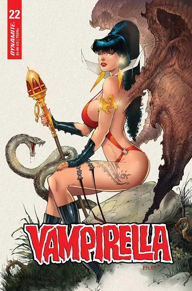 stl201863 ComicList: Dynamite Entertainment New Releases for 08/04/2021