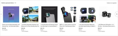 ebay phone anamorphic lenses