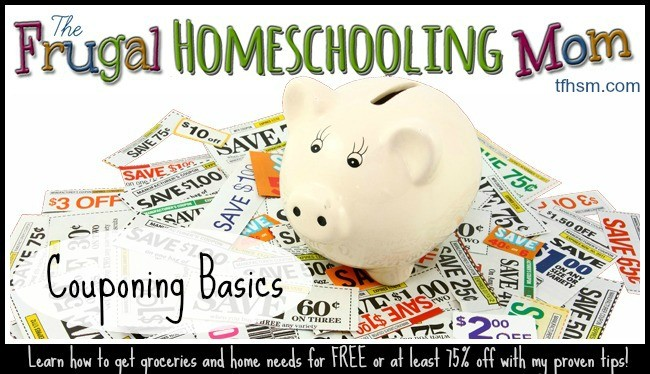 Frugal Homeschool Mom Couponing Basics